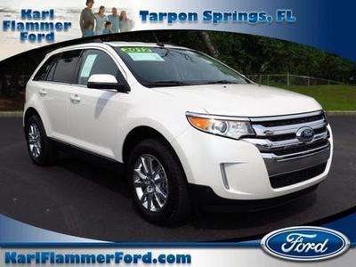 2012 Ford Edge Limited SUV for sale in Tarpon Springs for $25,810 with 21,885 miles.