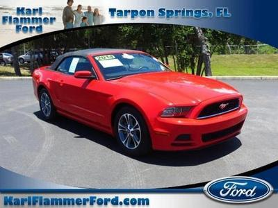 2014 Ford Mustang Convertible for sale in Tarpon Springs for $24,410 with 29,063 miles.