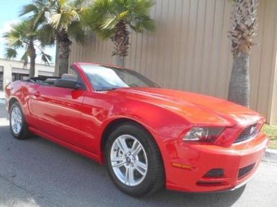 2014 Ford Mustang Convertible for sale in Palm Coast for $22,977 with 21,716 miles.