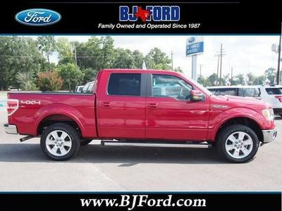 2011 Ford F150 Lariat Crew Cab Pickup for sale in Liberty for $32,962 with 44,895 miles.