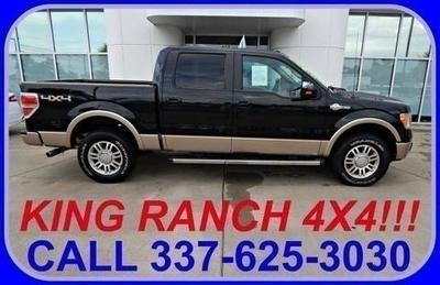 2012 Ford F150 King Ranch Crew Cab Pickup for sale in Sulphur for $39,867 with 21,126 miles.