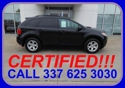 2012 Ford Edge SEL SUV for sale in Sulphur for $23,687 with 16,389 miles.