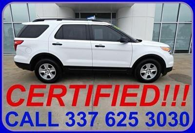 2013 Ford Explorer Base SUV for sale in Sulphur for $24,857 with 25,071 miles.