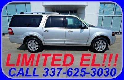 2012 Ford Expedition EL Limited SUV for sale in Sulphur for $39,657 with 15,791 miles.