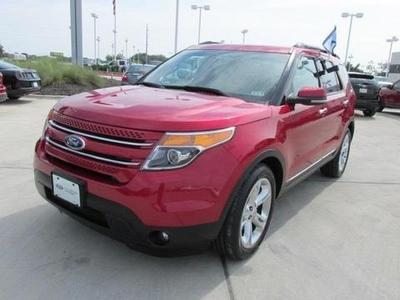 2012 Ford Explorer Limited SUV for sale in Temple for $33,681 with 51,380 miles.