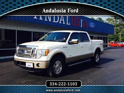 2012 Ford F150 King Ranch Crew Cab Pickup for sale in Andalusia for $40,990 with 38,724 miles.