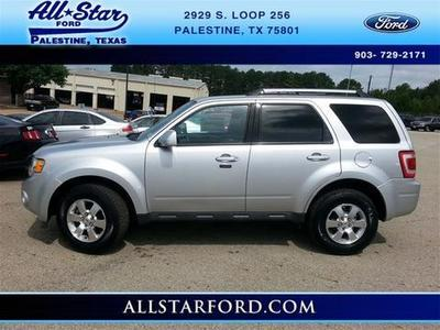 2011 Ford Escape Limited SUV for sale in Palestine for $19,995 with 45,212 miles.