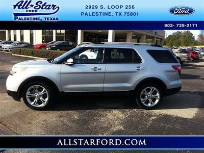 2013 Ford Explorer Limited SUV for sale in Palestine for $31,995 with 23,718 miles.