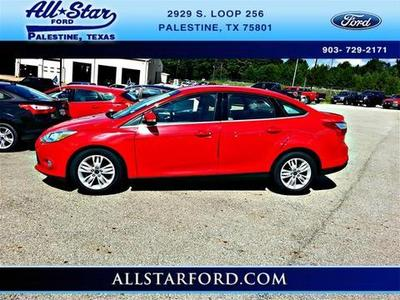 2012 Ford Focus SEL Sedan for sale in Palestine for $14,888 with 69,514 miles.