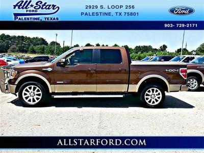 2012 Ford F150 Crew Cab Pickup for sale in Palestine for $35,888 with 45,299 miles.