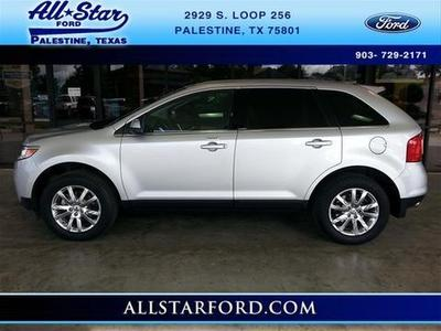 2013 Ford Edge Limited SUV for sale in Palestine for $27,995 with 33,187 miles.