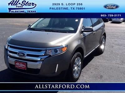 2013 Ford Edge Limited SUV for sale in Palestine for $26,995 with 42,496 miles.