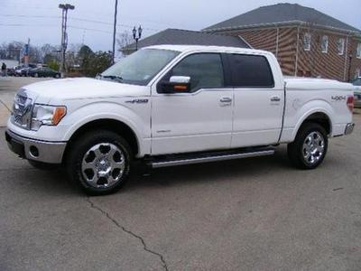 2012 Ford F150 Lariat Crew Cab Pickup for sale in Columbus for $37,327 with 15,959 miles.
