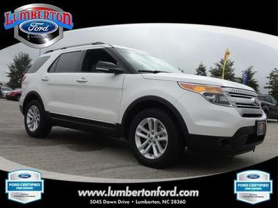 2014 Ford Explorer XLT SUV for sale in Lumberton for $35,779 with 19,047 miles.