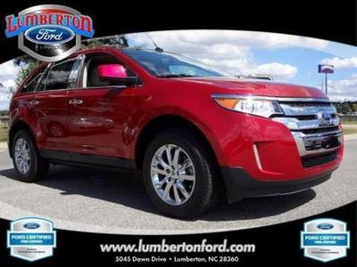 2011 Ford Edge SEL SUV for sale in Lumberton for $28,999 with 32,114 miles.