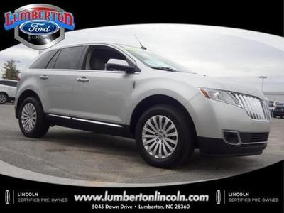 2013 Lincoln MKX Base SUV for sale in Lumberton for $35,999 with 34,178 miles.