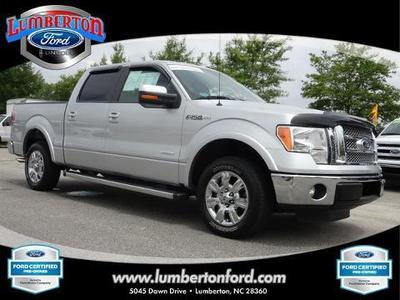 2011 Ford F150 Lariat Crew Cab Pickup for sale in Lumberton for $33,325 with 22,212 miles.