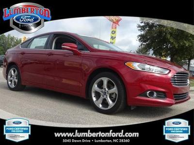 2014 Ford Fusion SE Sedan for sale in Lumberton for $22,979 with 18,420 miles.