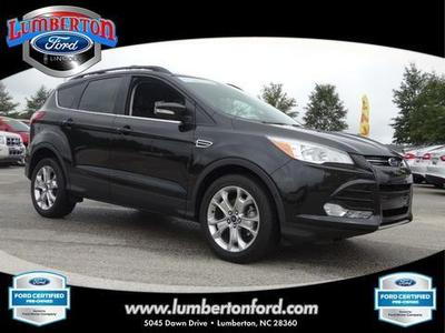 2013 Ford Escape SEL SUV for sale in Lumberton for $24,279 with 21,645 miles.