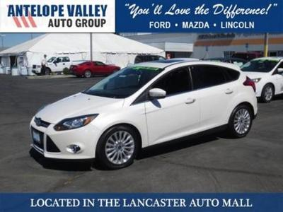 2012 Ford Focus Titanium Hatchback for sale in Lancaster for $20,517 with 26,568 miles.