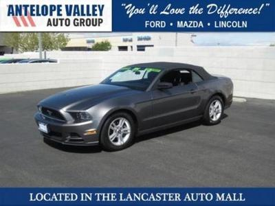 2014 Ford Mustang Convertible for sale in Lancaster for $24,391 with 34,732 miles.