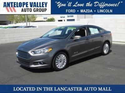 2013 Ford Fusion Hybrid SE Hybrid Sedan for sale in Lancaster for $27,976 with 14,147 miles.