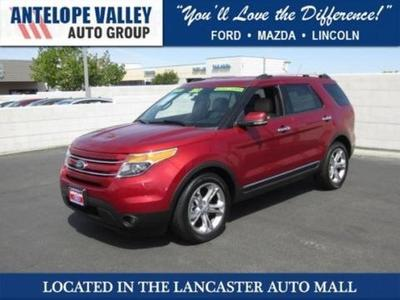 2013 Ford Explorer Limited SUV for sale in Lancaster for $29,780 with 41,214 miles.