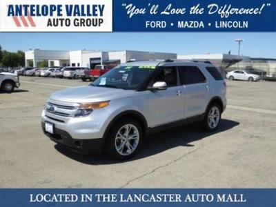 2013 Ford Explorer Limited SUV for sale in Lancaster for $33,306 with 40,091 miles.