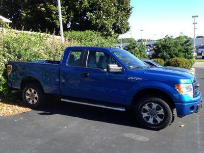 2013 Ford F150 STX Extended Cab Pickup for sale in Muscle Shoals for $28,742 with 3,817 miles.