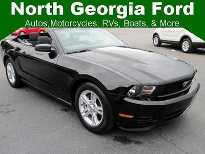 2012 Ford Mustang Convertible for sale in Blue Ridge for $19,993 with 32,226 miles.