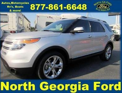 2013 Ford Explorer Limited SUV for sale in Blue Ridge for $32,443 with 21,924 miles.