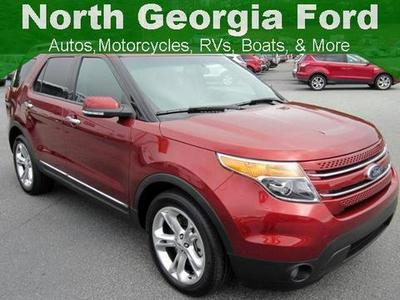 2014 Ford Explorer Limited SUV for sale in Blue Ridge for $35,976 with 23,401 miles.