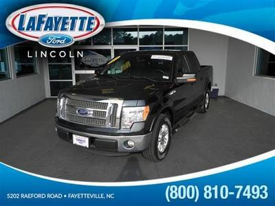 2012 Ford F150 Lariat Crew Cab Pickup for sale in Fayetteville for $35,050 with 33,247 miles.