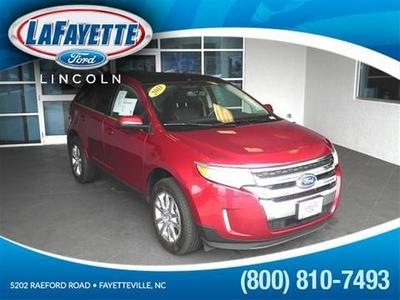 2013 Ford Edge Limited SUV for sale in Fayetteville for $28,591 with 31,599 miles.