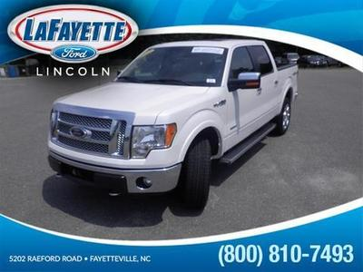 2012 Ford F150 Lariat Crew Cab Pickup for sale in Fayetteville for $41,675 with 32,686 miles.