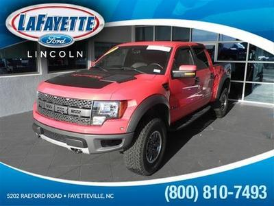 2011 Ford F150 SVT Raptor Crew Cab Pickup for sale in Fayetteville for $44,524 with 62,505 miles.