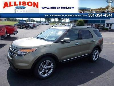 2013 Ford Explorer Limited SUV for sale in Morrilton for $31,440 with 30,692 miles.