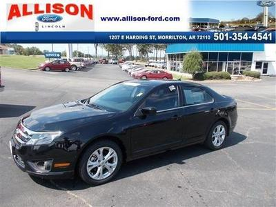 2012 Ford Fusion SE Sedan for sale in Morrilton for $15,950 with 47,655 miles.
