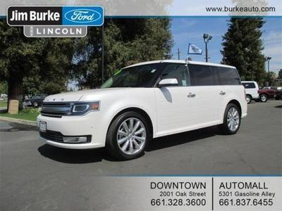 2013 Ford Flex Limited SUV for sale in Bakersfield for $33,864 with 11,848 miles.
