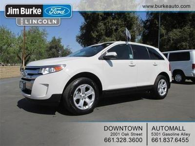 2012 Ford Edge SEL SUV for sale in Bakersfield for $25,668 with 14,539 miles.