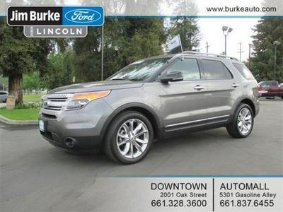 2012 Ford Explorer XLT SUV for sale in Bakersfield for $33,540 with 20,581 miles.