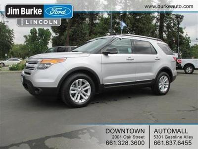 2012 Ford Explorer XLT SUV for sale in Bakersfield for $27,898 with 24,200 miles.