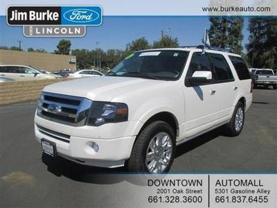 2012 Ford Expedition Limited SUV for sale in Bakersfield for $39,170 with 28,695 miles.