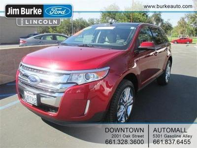 2013 Ford Edge SEL SUV for sale in Bakersfield for $29,570 with 10,608 miles.
