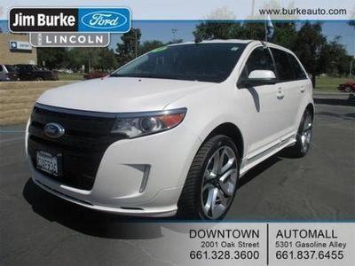2012 Ford Edge Sport SUV for sale in Bakersfield for $26,987 with 47,954 miles.