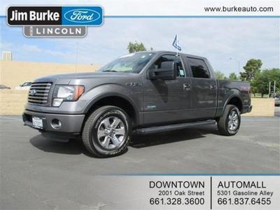 2011 Ford F150 Crew Cab Pickup for sale in Bakersfield for $31,956 with 50,340 miles.