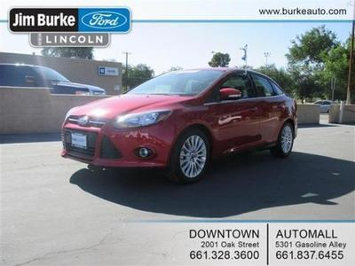 2012 Ford Focus Titanium Sedan for sale in Bakersfield for $19,950 with 16,152 miles.