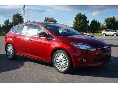 2013 Ford Focus Titanium Hatchback for sale in Goldsboro for $20,795 with 16,271 miles.