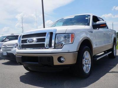 2012 Ford F150 Lariat Crew Cab Pickup for sale in Goldsboro for $40,995 with 33,020 miles.