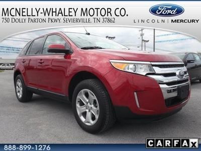 2012 Ford Edge SEL SUV for sale in Sevierville for $29,995 with 21,502 miles.